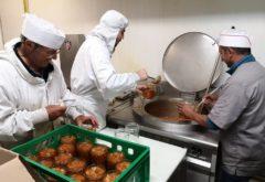 Gîte  - Nos produits - préparation des tripes