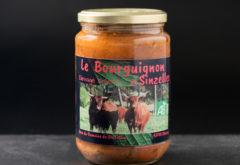 Gîte  - Nos produits - Bourguignon cuisiné